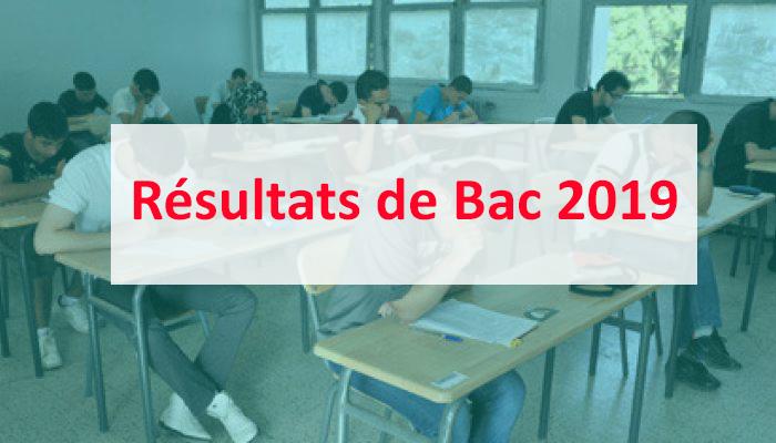 Résultats de Bac 2019